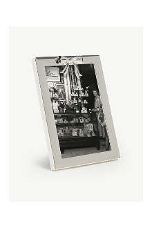 VERA WANG @ WEDGWOOD Vera Wang Gifts silverplate bow photo frame 4
