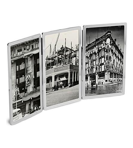 VERA WANG @ WEDGWOOD 维拉王礼品银器三重折叠相框