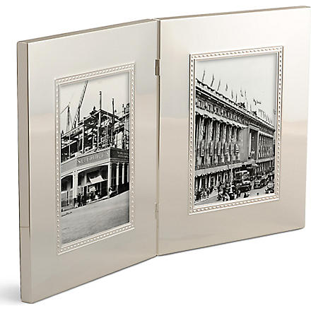 WEDGWOOD Wish double picture frame