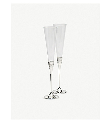 VERA WANG @ WEDGWOOD With Love toasting flutes