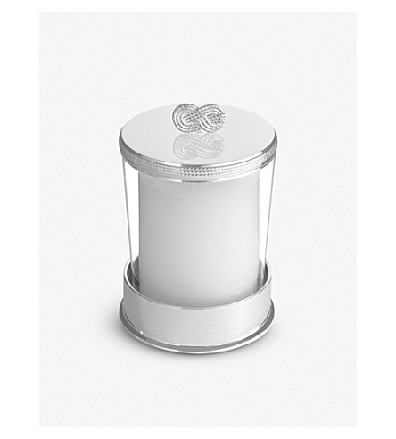 VERA WANG @ WEDGWOOD Infinity candle on base