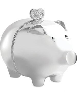 VERA WANG @ WEDGWOOD Infinity baby piggy bank
