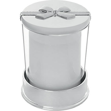 VERA WANG @ WEDGWOOD Grosgrain covered candle