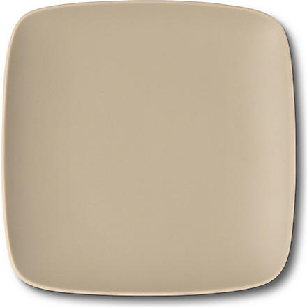 VERA WANG @ WEDGWOOD Naturals leaf square accent plate 23cm (Leaf