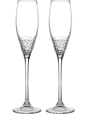VERA WANG @ WEDGWOOD Set of two champagne flutes