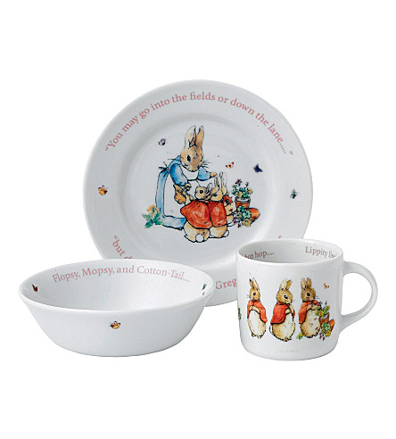 WEDGWOOD PETER RABBIT 三件套