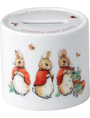 WEDGWOOD Peter Rabbit Girls moneybox