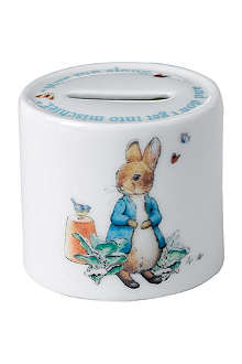 WEDGWOOD Peter Rabbit Boys moneybox