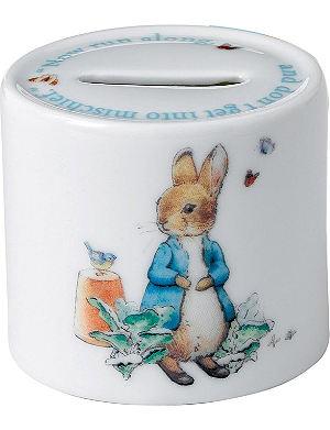 WEDGWOOD Peter Rabbit Boys moneybox