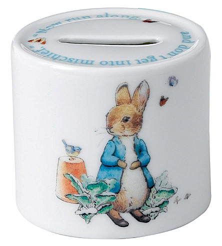 WEDGWOOD PETER RABBIT 男孩 moneybox