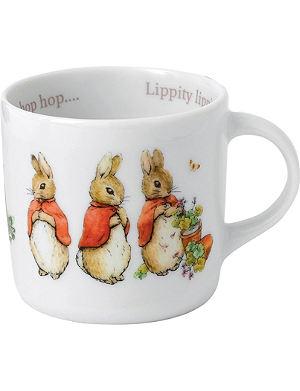 WEDGWOOD Peter Rabbit Girls mug