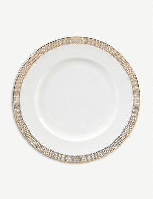 VERA WANG @ WEDGWOOD Gilded Weave plate 27cm