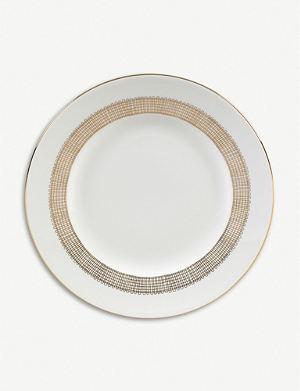 VERA WANG @ WEDGWOOD Gilded Weave plate 20cm