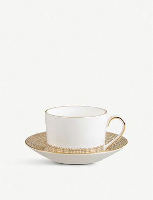 VERA WANG @ WEDGWOOD Gilded Weave teacup