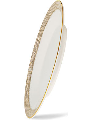 VERA WANG @ WEDGWOOD Gilded Weave sauceboat stand