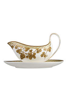 WEDGWOOD Golden Bird sauce boat