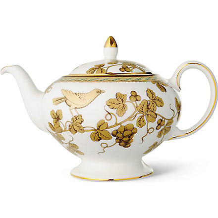 WEDGWOOD Golden Bird teapot