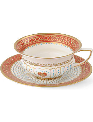 WEDGWOOD Queen of Hearts teacup and saucer