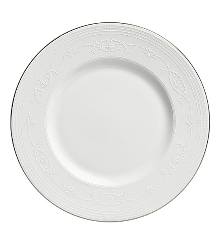 WEDGWOOD English lace accent salad plate