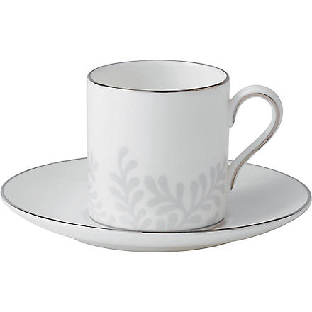 VERA WANG @ WEDGWOOD Trailing Vines coffee saucer