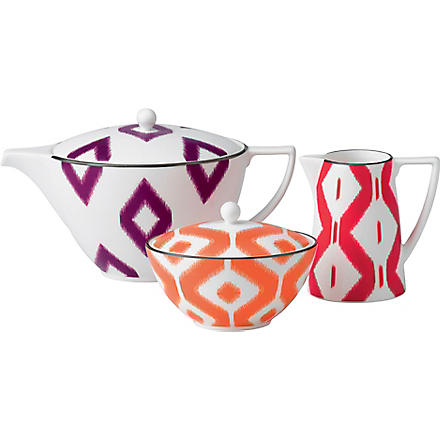 JASPER CONRAN @ WEDGWOOD Kilim three-piece tea set