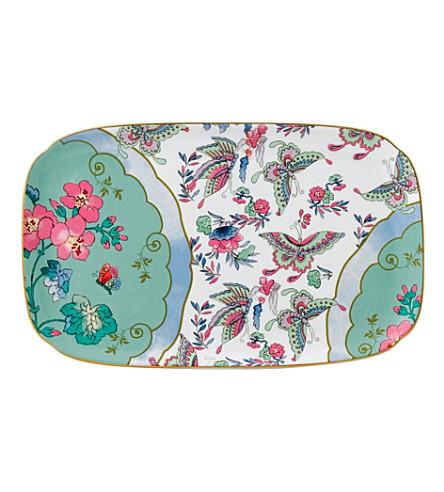 WEDGWOOD Butterfly Bloom sandwich tray 25cm