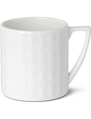 JASPER CONRAN @ WEDGWOOD Diamond Embossed mini mug