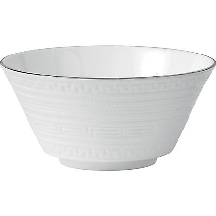 WEDGWOOD Intaglio Platinum cereal and salad bowl 14cm