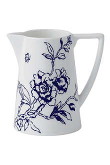 JASPER CONRAN @ WEDGWOOD Chinoiserie Blue cream jug 200ml