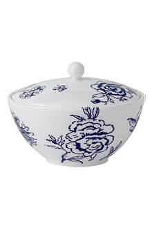 JASPER CONRAN @ WEDGWOOD Chinoiserie Blue covered sugar bowl