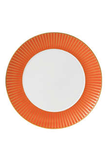 WEDGWOOD Palladian Orange Accent plate 28cm