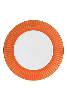 WEDGWOOD Palladian Orange Accent plate 23cm