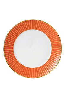 WEDGWOOD Palladian Orange Accent plate 17cm