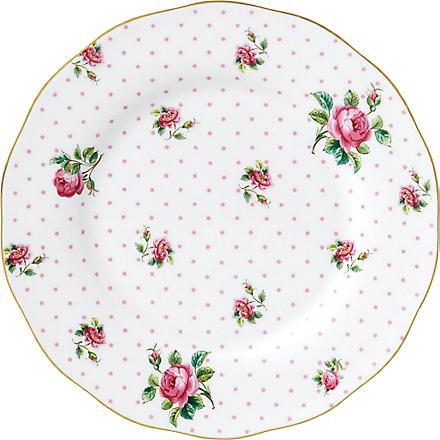 ROYAL ALBERT Cheeky Pink Vintage salad plate 20cm