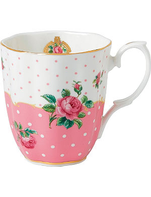 WEDGWOOD Cheeky Pink Vintage mug 350ml