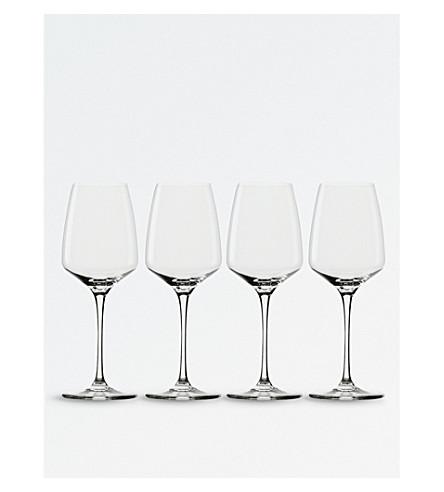 ROYAL DOULTON Royal Doulton sommelier white wine glasses (set of 4)