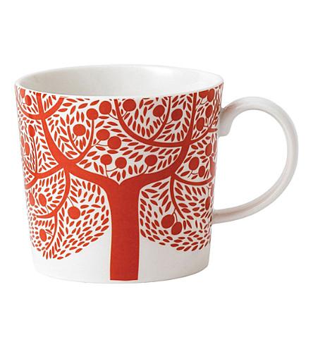 ROYAL DOULTON Fable red tree mug