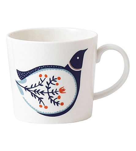 ROYAL DOULTON Fable bird mug