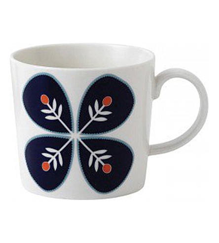 ROYAL DOULTON Fable flower mug
