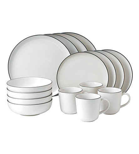 ROYAL DOULTON Gordon Ramsay Bread Street 16-piece dinner set