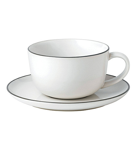 ROYAL DOULTON Gordon Ramsay Bread Street breakfast cup and saucer