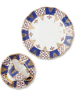 ROYAL ALBERT Regency Blue 1900 three-piece set
