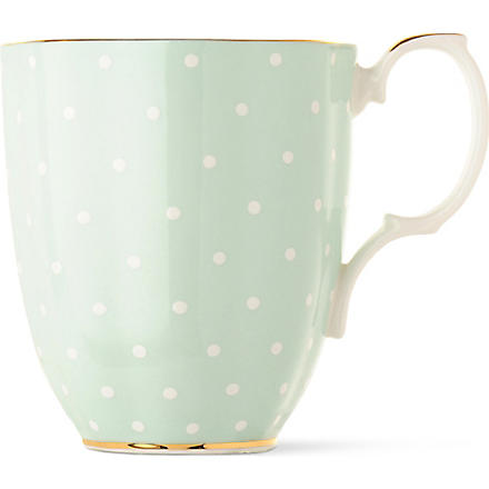 ROYAL ALBERT 1930 Polka Rose mug