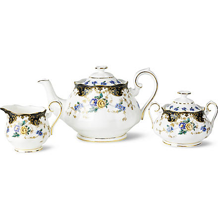 ROYAL ALBERT 1910 Duchess tea serving set