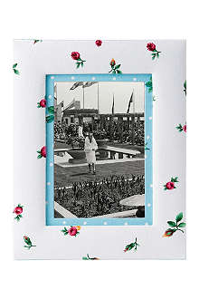 ROYAL ALBERT Rose Buds small fabric photo frame 4