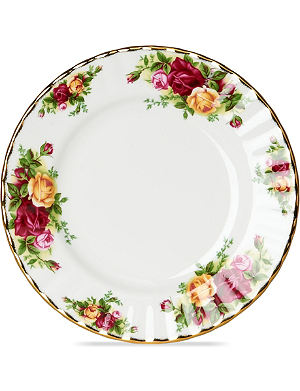 ROYAL ALBERT Old Country Roses plate 18cm