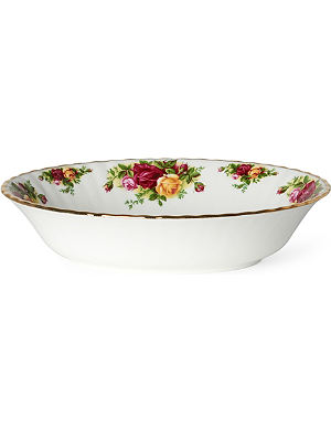 WEDGWOOD Old Country Roses open vegetable dish 23cm