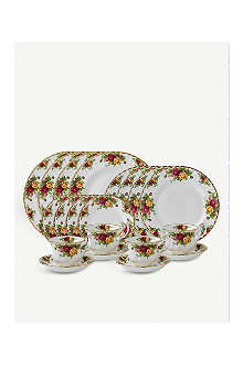 WEDGWOOD Old Country Roses 20-piece set