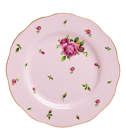 WEDGWOOD New Country Roses Pink salad plate 20cm
