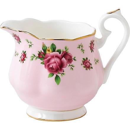 ROYAL ALBERT New Country Roses pink creamer